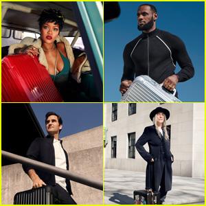 Rihanna, LeBron James, Roger Federer & Patti Smith Star in RIMOWA Global Campaign