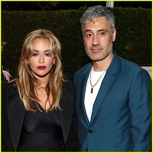 Rita Ora & Taika Waititi Couple Up at Elizabeth Taylor Ball to End AIDS