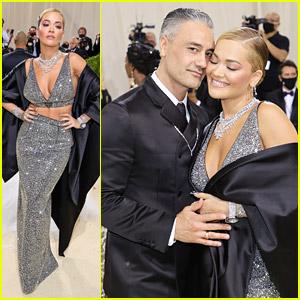 Rita Ora & Taika Waititi Make Their Couple Debut at Met Gala 2021
