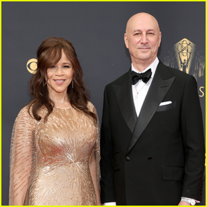 Nominee Rosie Perez & Husband Eric Haze Arrive on the Red Carpet at Emmys 2021