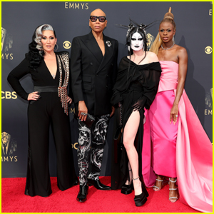 'Drag Race' Stars RuPaul, Michelle Visage, Symone & Gottmik Attend Emmys 2021