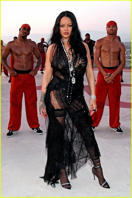 Rihanna at the Savage X Fenty Show Vol. 3