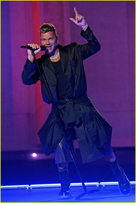 Ricky Martin at the Savage X Fenty Show Vol. 3