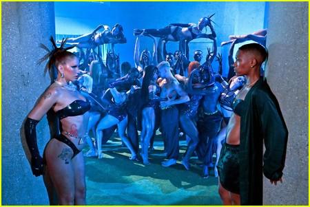 Jojo T. Gibbs at the Savage X Fenty Show Vol. 3