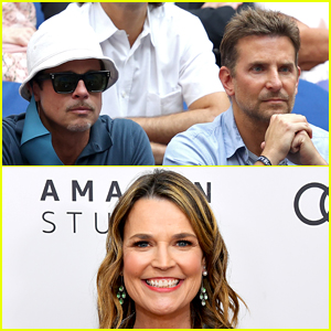 Savannah Guthrie's Tweet About Sitting Next to Bradley Cooper & Brad Pitt at US Open Is So Relatable!