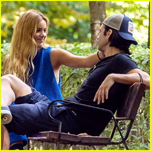 Sebastian Stan Packs on PDA with Girlfriend Alejandra Onieva During an Afternoon in the Park