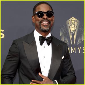 Sterling K. Brown Rocks Sunglasses on Emmy Awards 2021 Red Carpet
