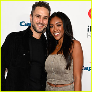 Tayshia Adams & Zac Clark Make Red Carpet Debut Nine Months After Getting Engaged on 'The Bachelorette'