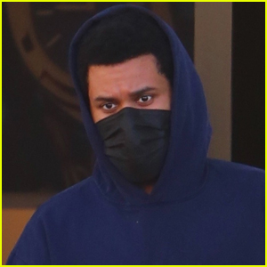 The Weeknd Does Some Shopping with Friends in Beverly Hills
