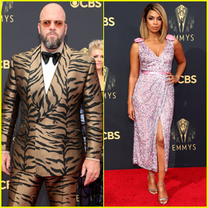 'This Is Us' Stars Chris Sullivan & Susan Kelechi Watson Hit the Emmys 2021 Red Carpet