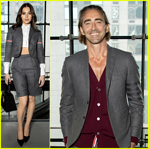 Hailee Steinfeld, Lee Pace, & Many More Stars Attended the Thom Browne NYFW Show!