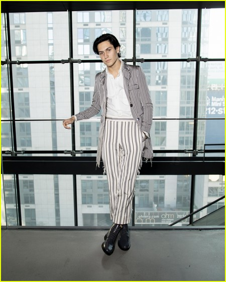 Chase Hudson at the Thom Browne NYFW Show