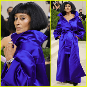 Tracee Ellis Ross Shows Off Some Fierce Face While Stepping Out for Met Gala 2021