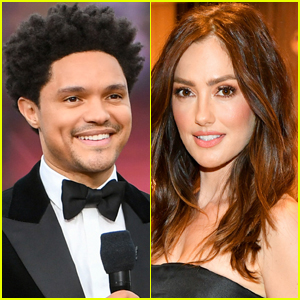 Trevor Noah & Minka Kelly Couple Up for Afternoon Stroll Around NYC