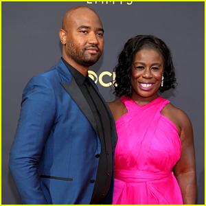 Uzo Aduba & Husband Robert Sweeting Make Red Carpet Debut at Emmys 2021!