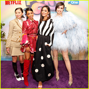 Vanessa Hudgens Promotes New 'My Little Pony' Movie With Sofia Carson, Liza Koshy & Kimiko Glenn