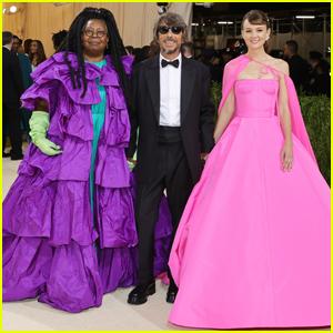 Whoopi Goldberg & Carey Mulligan Join Valentino Designer Pier Paolo Piccioli at Met Gala 2021