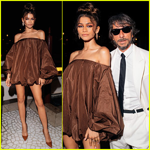 Zendaya Steps Out In Style During Valentino's Venetian Dinner