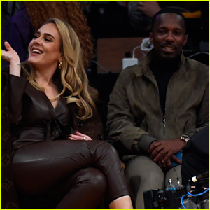 Adele & Boyfriend Rich Paul Couple Up for Date Night at Lakers vs. Warriors Game!