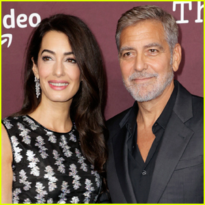 Amal Clooney Says George Clooney Has Been 'Teaching Pranks' to Their Twins During Quarantine