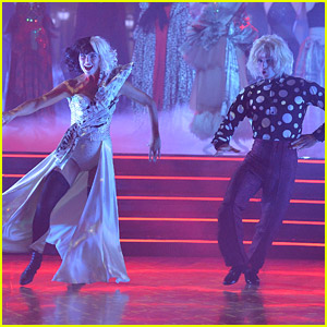 Amanda Kloots Performs DeVil-ishly Stunning 'Cruella' Performance For 'DWTS' Villains Night - Watch!