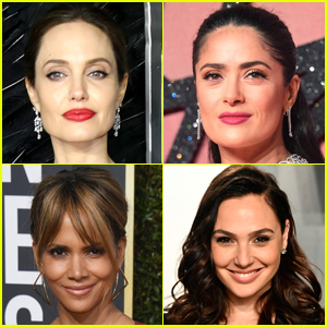 Angelina Jolie, Halle Berry, Salma Hayek & Gal Gadot Are Among Elle's Women in Hollywood Honorees!