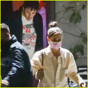 Ariana Grande & Husband Dalton Gomez Head Home After Attending Dave Chappelle's Show in LA