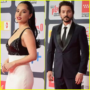 Becky G, Diego Luna & More Step Out for the 2021 Platino Awards
