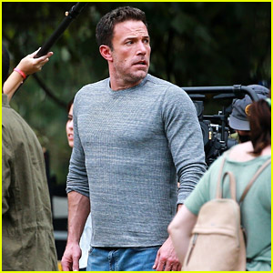 Ben Affleck Is Looking Buff in New Photos from 'Hypnotic' Movie Set!