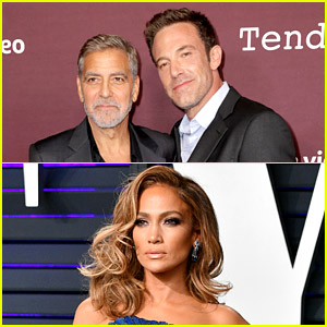 Watch Ben Affleck React to George Clooney's Quote About His Girlfriend Jennifer Lopez