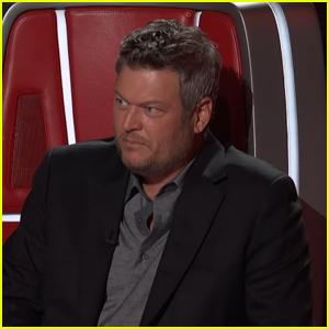 Blake Shelton Has Never Heard Nelly & Kelly Rowland's 'Dilemma' & 'The Voice' Coaches Are Shocked