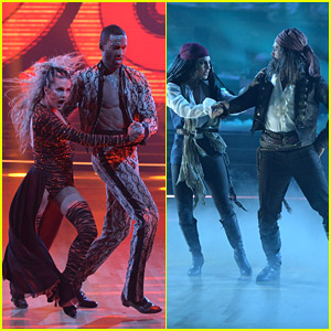 Matt James & Brian Austin Green Deliver Unbelievable Performances Before Being Eliminated From 'DWTS'