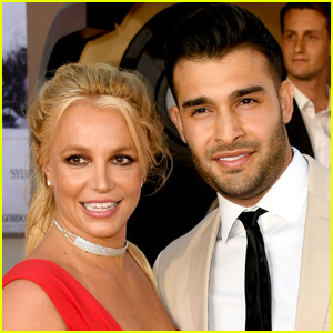 Britney Spears' Fiance Sam Asghari Surprises Her with New Doberman Puppy for Protection