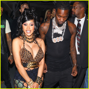 Cardi B Stuns in Black & Gold at Her Dance-Hall Themed 29th Birthday Party