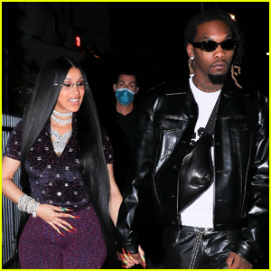 Cardi B & Offset Kick Off Her 29th Birthday Celebration with a Night Out in Santa Monica!