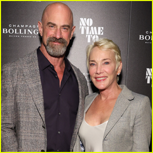 Christopher Meloni & Wife Doris Sherman Make Rare Red Carpet Appearance at 'No Time to Die' Screening in NYC