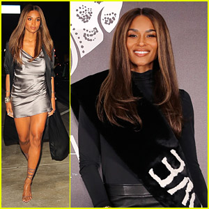 Ciara Steps Out For Dinner After Debuting New Lita by Ciara Fashion Line
