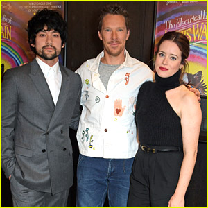 Claire Foy Joins Benedict Cumberbatch For Special Screening of 'Electrical Life of Louis Wain'