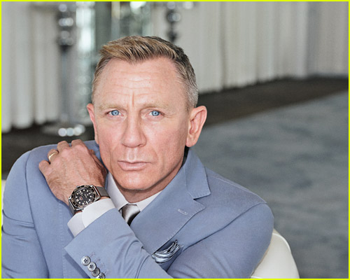 Photo of Daniel Craig at Omega's No Time to Die screening