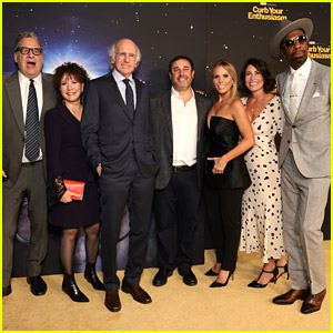 'Curb Your Enthusiasm' Cast Steps Out For Premiere Event & Teases 11th Season