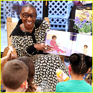 Cynthia Erivo Read Her New Children's Book to Kids at Storytime Event at Tory Burch Store
