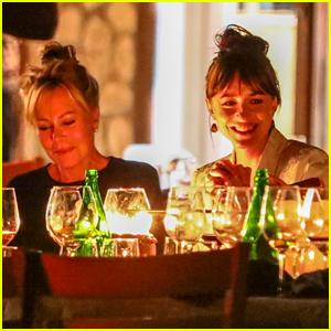 Dakota Johnson Celebrates Her Birthday with Mom Melanie Griffith & Pals at Dinner!