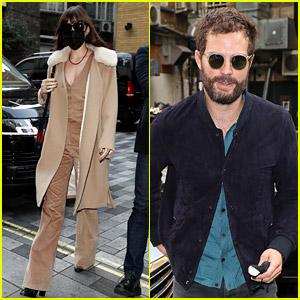 Dakota Johnson & Jamie Dornan Spotted at the Same Event in London!