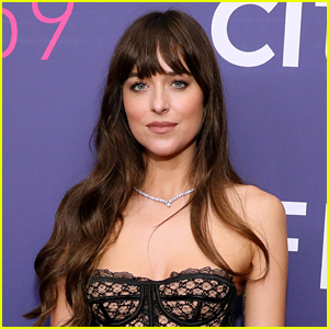 Dakota Johnson Reveals Who Her Famous Neighbor Is & They Have a Lot of Parties!
