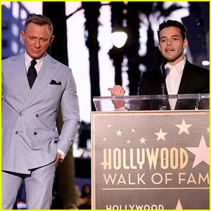 Daniel Craig Honored With Star on Hollywood's Walk of Fame During Nighttime Ceremony