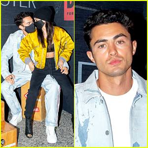 Never Have I Ever's Darren Barnet Couples Up with Girlfriend Mikaela Hoover at Diesel Event