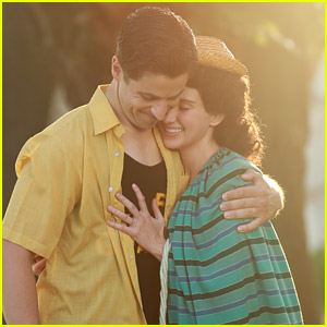 David Henrie as a Young Ronald Reagan in 'Reagan' with Ryan Whitney Newman (Exclusive First Look)