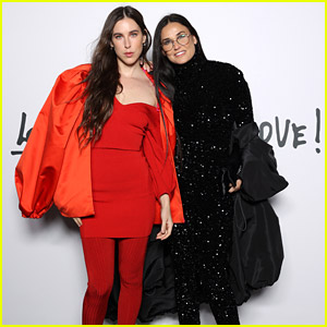Demi Moore & Daughter Scout Willis Honor The Late Alber Elbaz in Paris