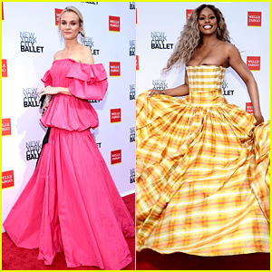 Diane Kruger & Laverne Cox Get All Dressed Up for a Night at the Ballet