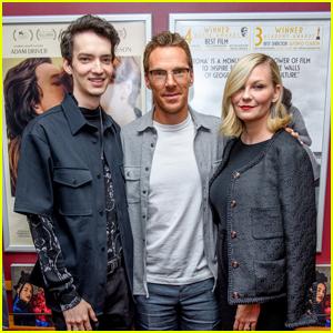 Kirsten Dunst, Benedict Cumberbatch & Kodi Smit-McPhee Attend 'The Power of the Dog' NYC Screening